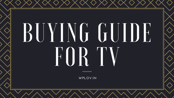 Buying Guide for TV