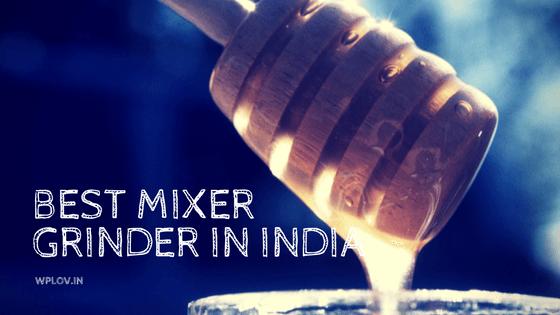 The best mixer grinder in India