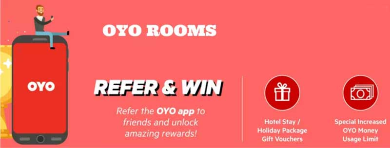 Oyo Refer and Earn
