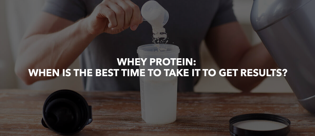 When to take Whey Protein?